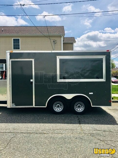 2016 Food Concession Trailer Concession Trailer Concession Window New Jersey for Sale
