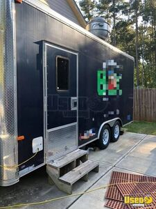 Ready to Serve Used 2016 Mobile Food Concession Trailer for Sale in Georgia!