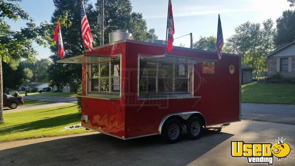 2016 Food Concession Trailer Kitchen Food Trailer Arkansas for Sale