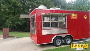 2016 Food Concession Trailer Kitchen Food Trailer Cabinets Arkansas for Sale