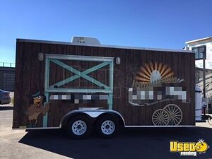 2016 Food Concession Trailer Kitchen Food Trailer Concession Window Montana for Sale