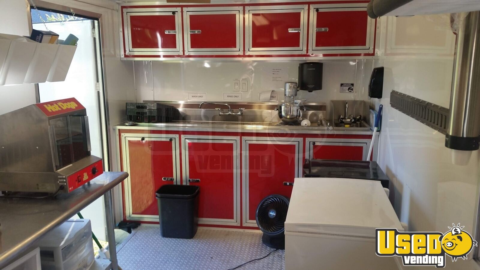 2016 Food Concession Trailer Kitchen Food Trailer Exterior Customer Counter Arkansas for Sale - 7