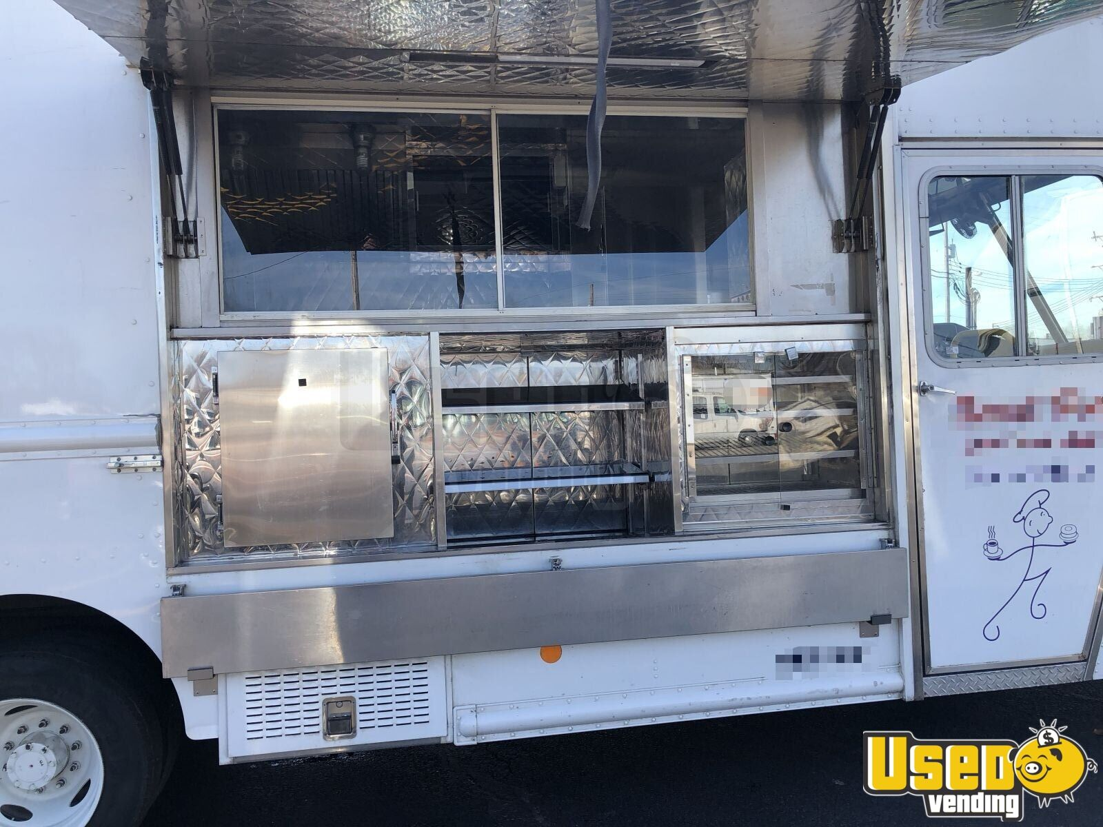 2016 Ford F550 All-purpose Food Truck Concession Window Kentucky Gas Engine for Sale - 3