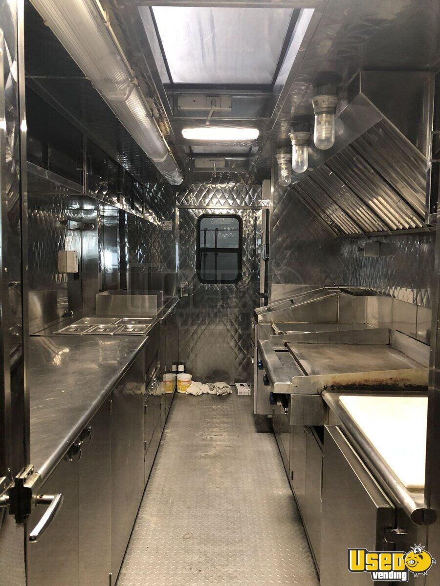2016 Ford F550 All-purpose Food Truck Stainless Steel Wall Covers Kentucky Gas Engine for Sale - 5