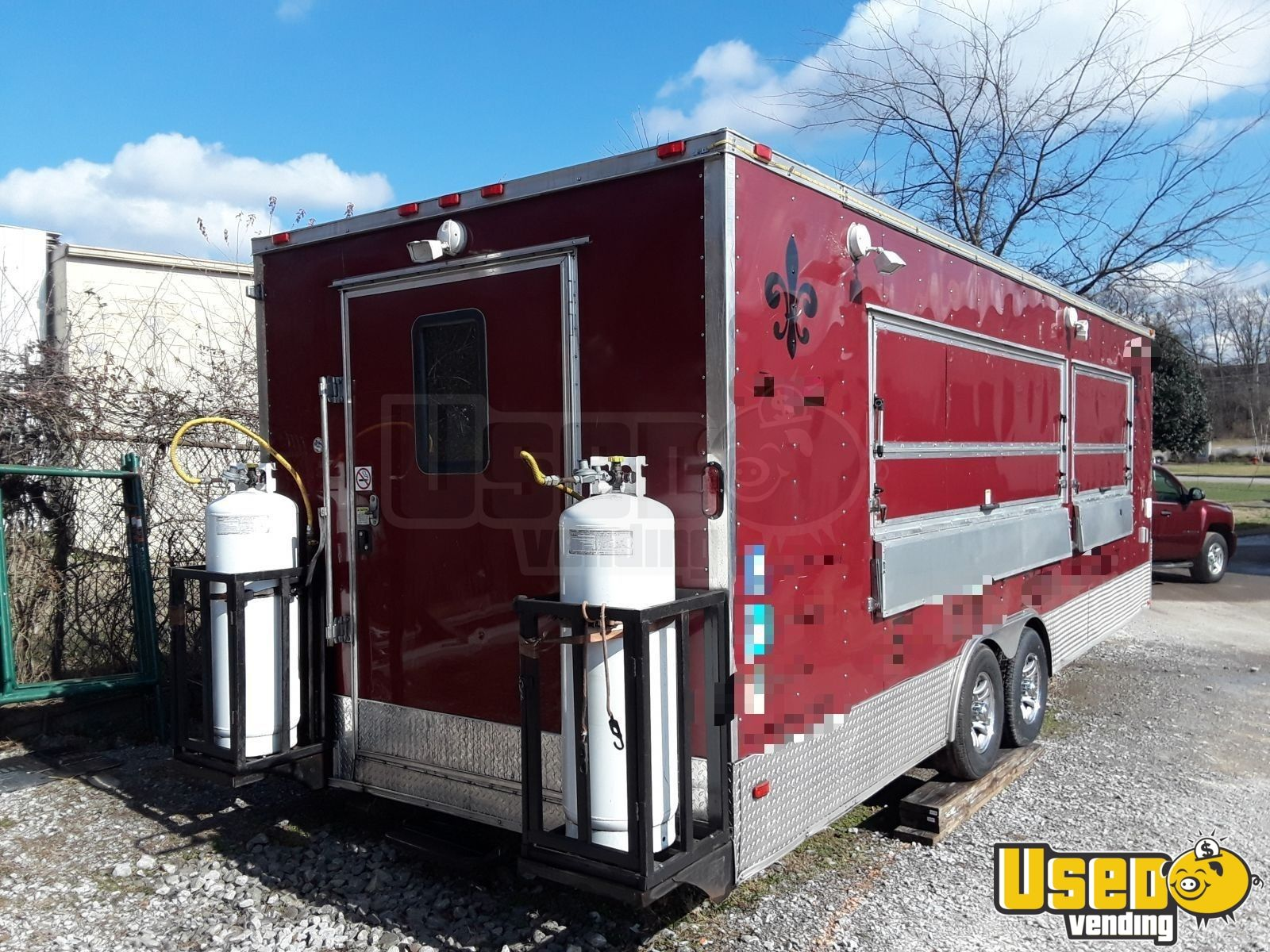 2016 Freedom Trailer 85x Concession Trailer Cabinets Tennessee for Sale - 4