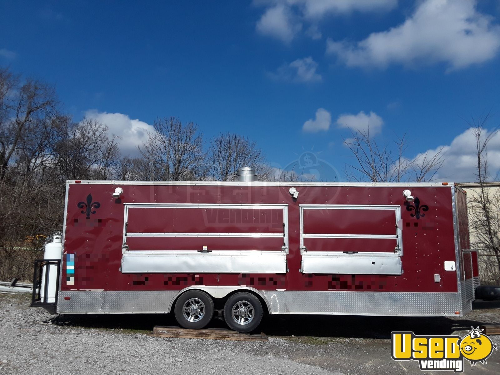 2016 Freedom Trailer 85x Concession Trailer Spare Tire Tennessee for Sale - 3