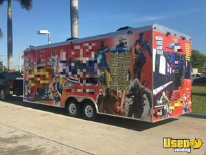 2016 Games On Wheels Usa Party / Gaming Trailer Cabinets Florida for Sale