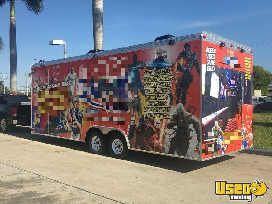 2016 Games On Wheels Usa Party / Gaming Trailer Cabinets Florida for Sale - 3