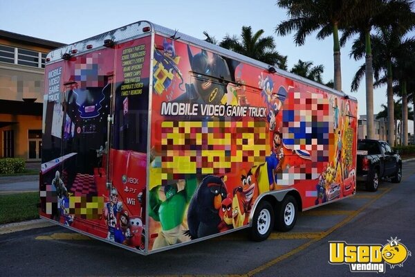2016 Games On Wheels Usa Party / Gaming Trailer Florida for Sale
