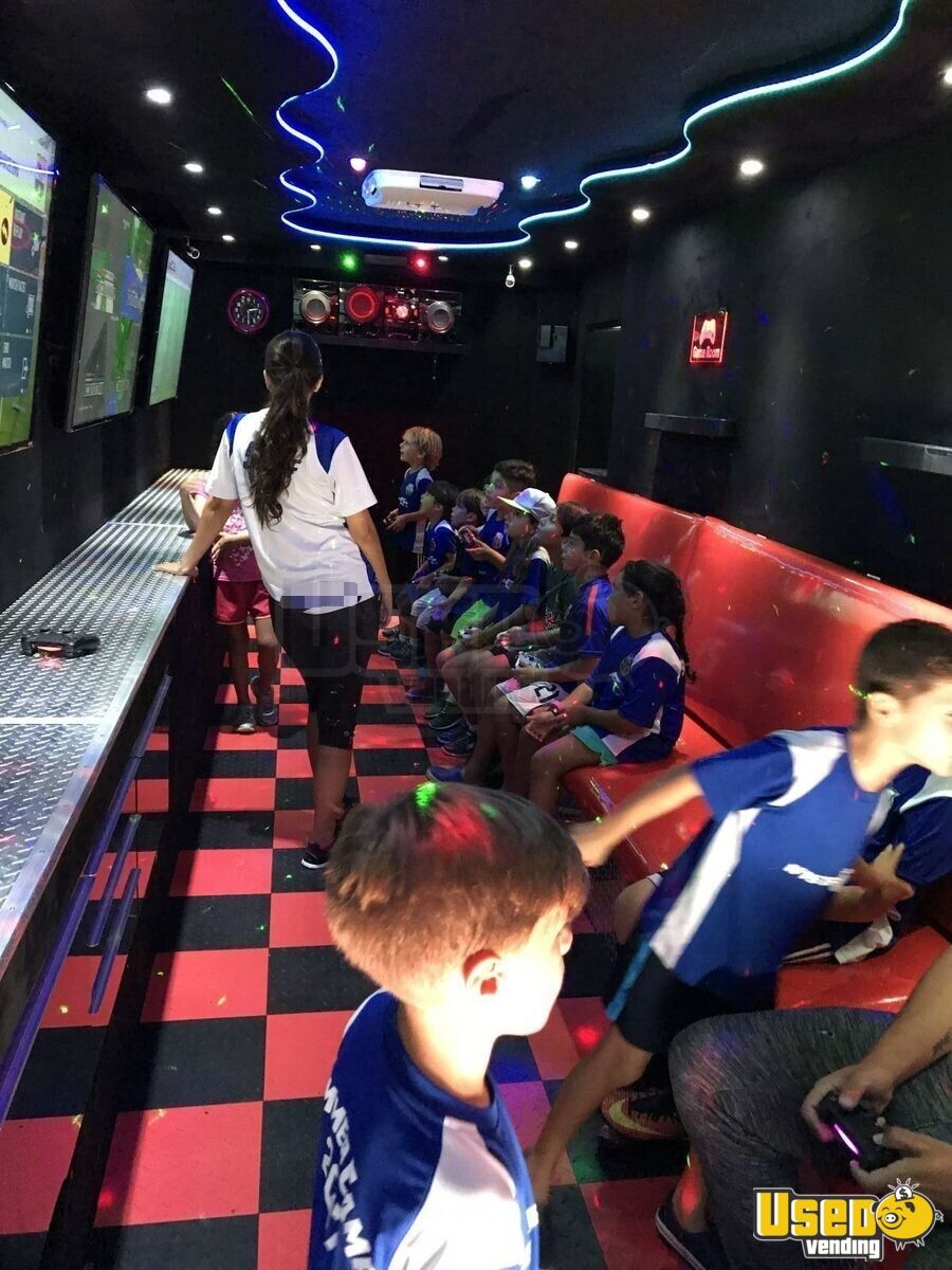 2016 Games On Wheels Usa Party / Gaming Trailer Interior Lighting Florida for Sale - 8