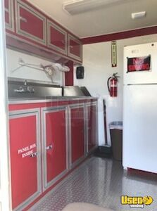 2016 Ice Cream Concession Trailer Ice Cream Trailer Fire Extinguisher Texas for Sale