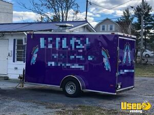 2016 Kitchen Food Trailer Air Conditioning Tennessee for Sale