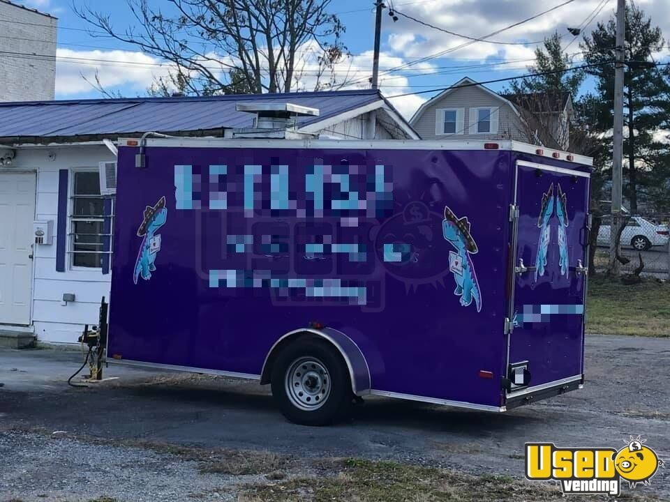 2016 Kitchen Food Trailer Air Conditioning Tennessee for Sale - 2