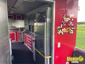 2016 Kitchen Food Trailer Concession Trailer Stainless Steel Wall Covers Kentucky for Sale