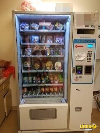 2016 Refrigerated Combo Vending Machine For Sale In