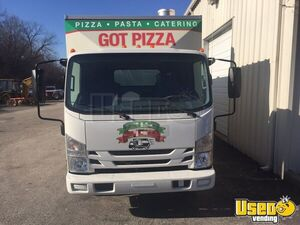 2016 Npr Hd Pizza Food Truck Pizza Food Truck Concession Window Missouri Diesel Engine for Sale