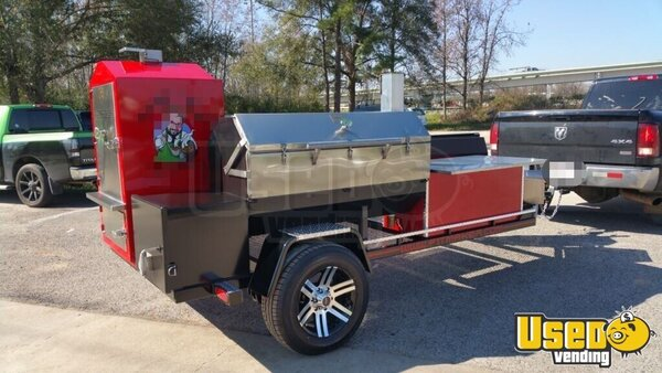 2016 Pitmaker Open Bbq Smoker Trailer Florida for Sale