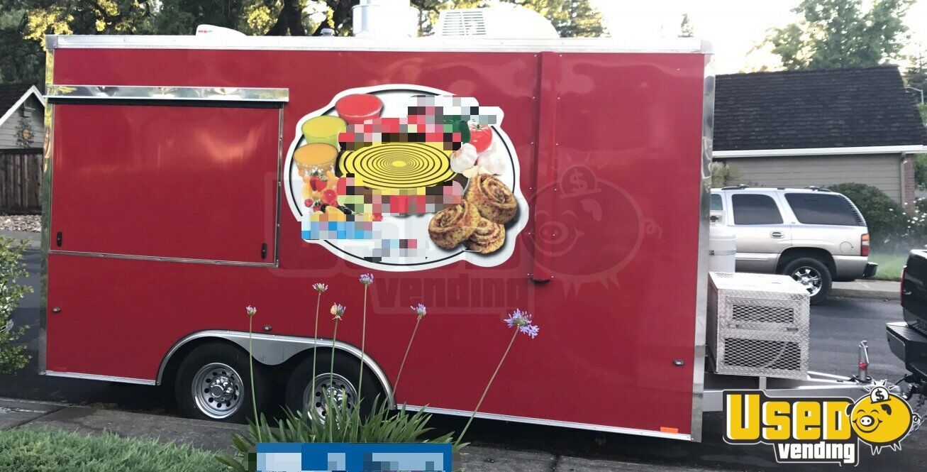 2016 Pizza Trailer Air Conditioning California for Sale - 2