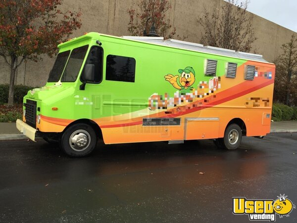 2016 Rbi Catering Food Truck California Gas Engine for Sale
