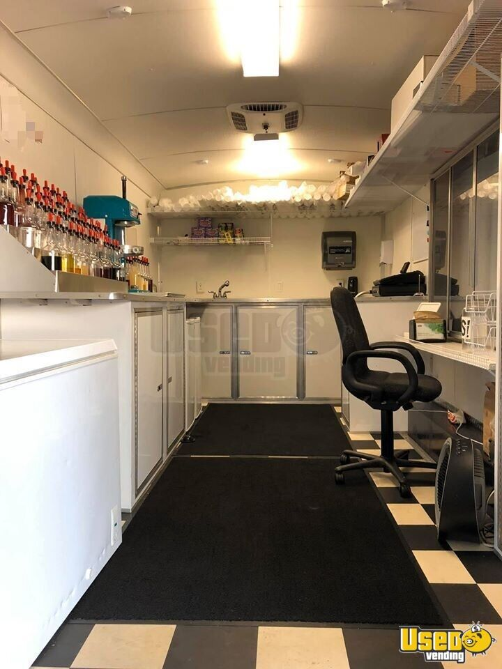 2016 Shaved Ice Concession Trailer Snowball Trailer Concession Window Texas for Sale - 3