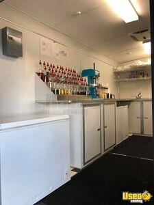 2016 Shaved Ice Concession Trailer Snowball Trailer Removable Trailer Hitch Texas for Sale