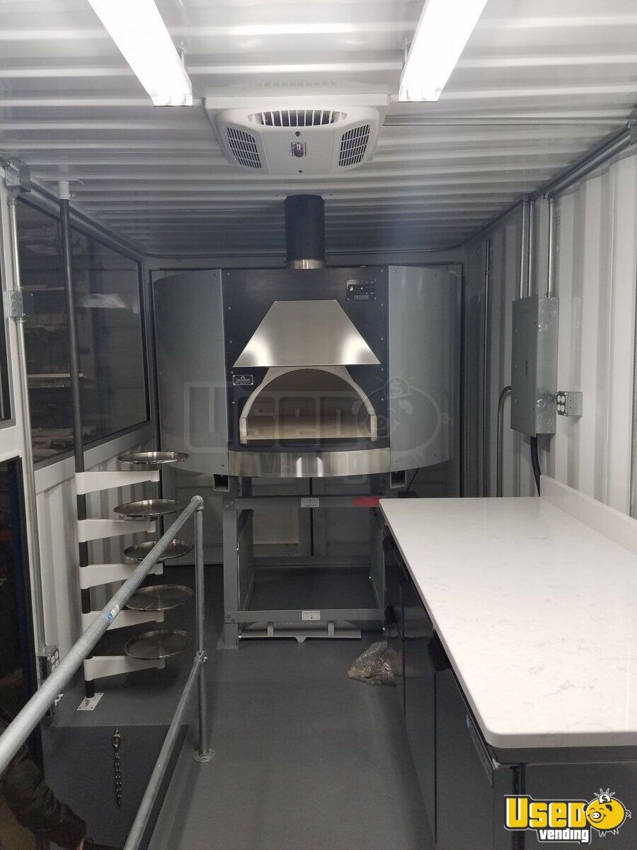 2017 2008 Hino 268 Food Truck Awning Illinois Diesel Engine for Sale - 7
