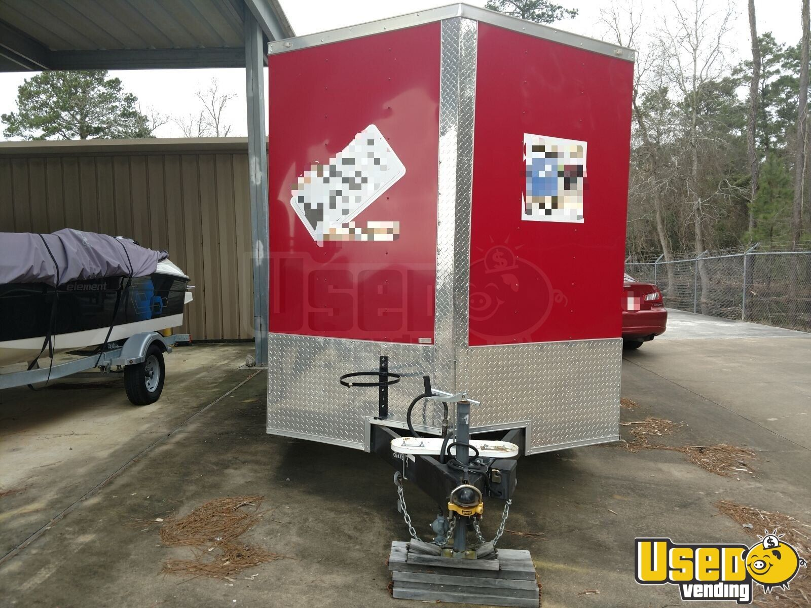 2017 2018 Gvwr:7000 Barbecue Food Trailer Concession Window Texas for Sale - 2