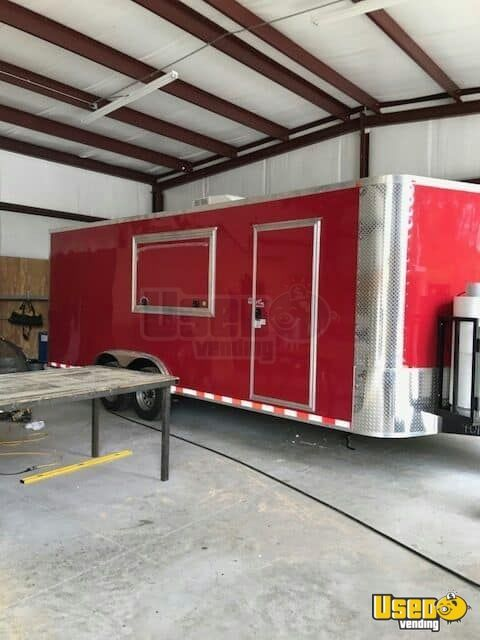 2017 American Trailer Pros Kitchen Food Trailer California for Sale