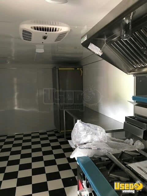 2017 American Trailer Pros Kitchen Food Trailer Propane Tank California for Sale - 4