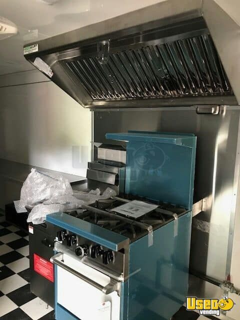 2017 American Trailer Pros Kitchen Food Trailer Stovetop California for Sale - 6