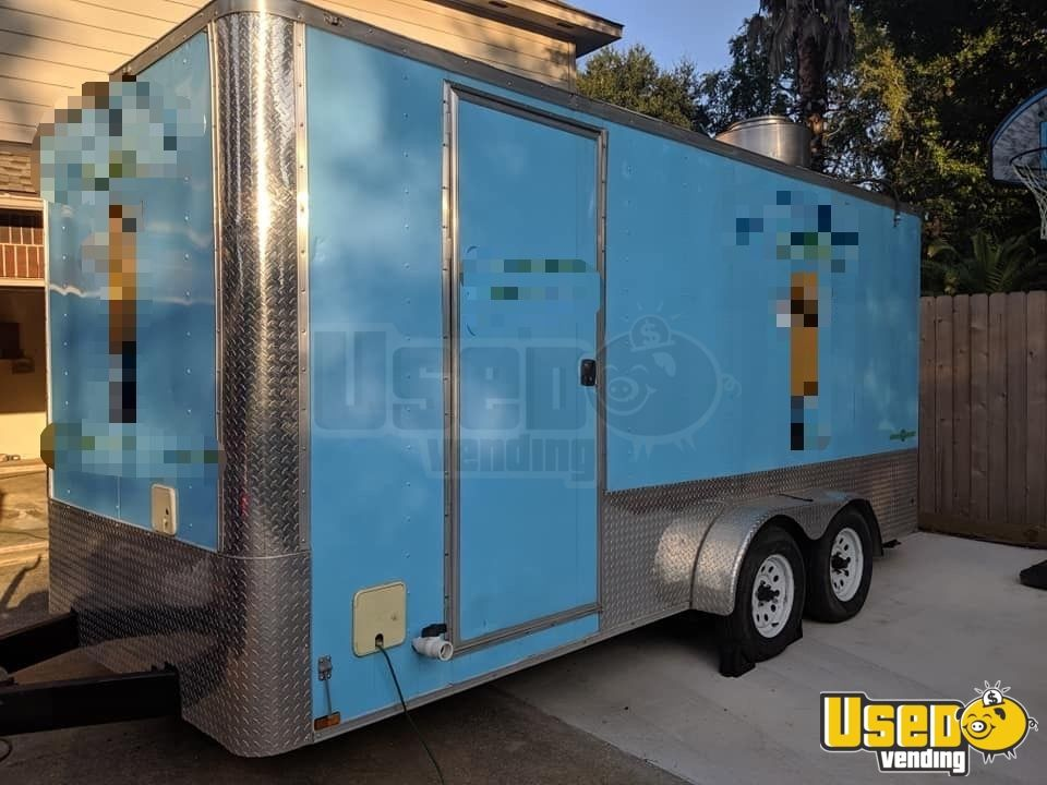 2017 Anvil All-purpose Food Trailer Air Conditioning Texas for Sale - 2
