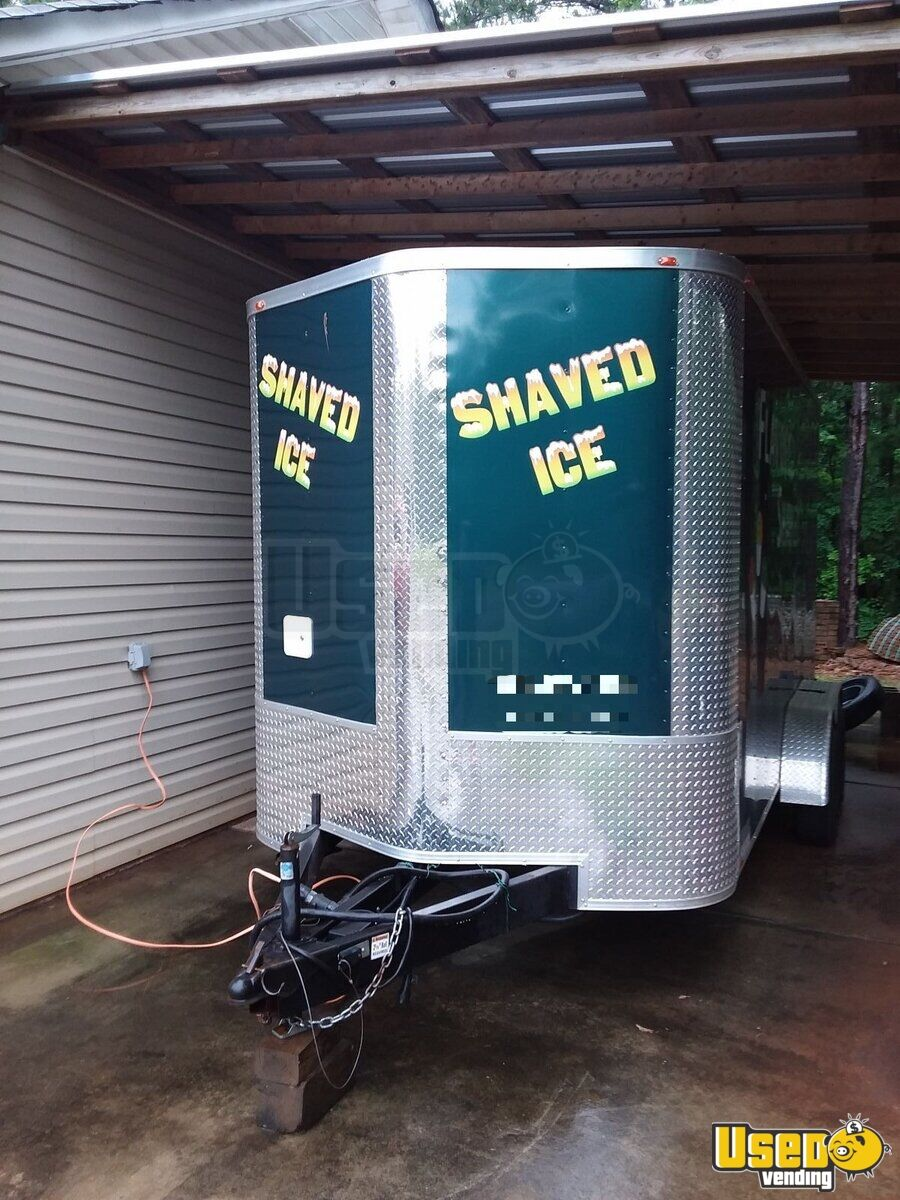 2017 Arising Sun Trailer Snowball Trailer Concession Window Georgia for Sale - 3