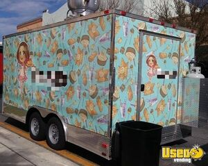 2017 Bakery And Kitchen Food Trailer Bakery Trailer Concession Window Florida for Sale