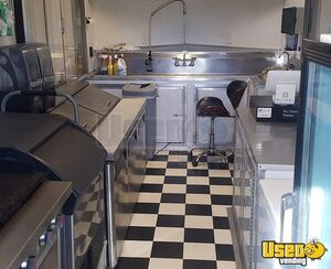 2017 Barbecue Concession Trailer Barbecue Food Trailer Air Conditioning Nevada for Sale