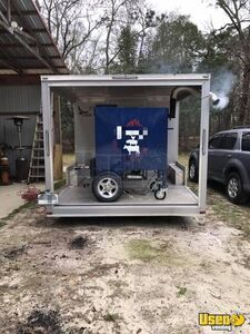 2017 Barbecue Concession Trailer Barbecue Food Trailer Insulated Walls Georgia for Sale