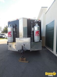 2017 Barbecue Concession Trailer Kitchen Food Trailer Concession Window Florida for Sale