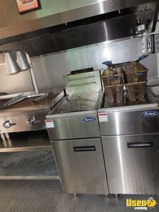 2017 Barbecue Concession Trailer Kitchen Food Trailer Upright Freezer Florida for Sale