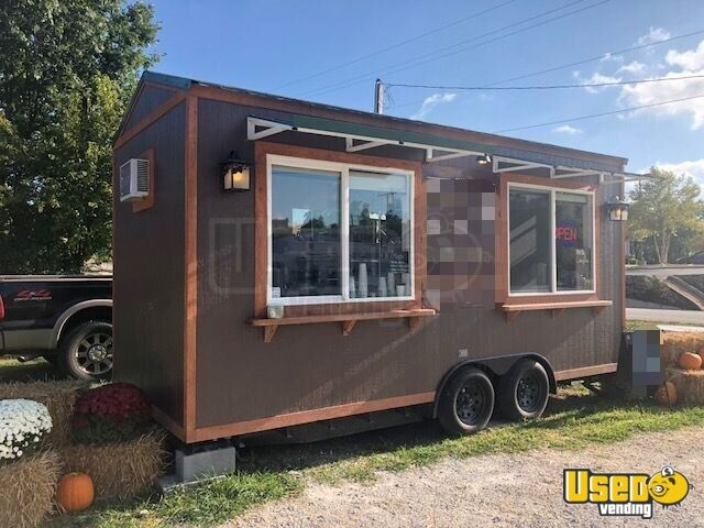 2017 Beverage - Coffee Trailer Air Conditioning Missouri for Sale - 2
