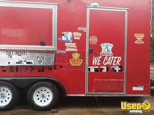 2017 Catering And Kitchen Food Concession Trailer Kitchen Food Trailer Concession Window Florida for Sale