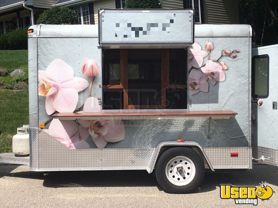 2017 Coffee Trailer Concession Window Wisconsin for Sale - 2