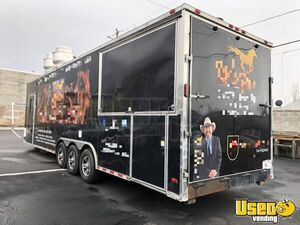 2017 Concession Barbecue Food Trailer Air Conditioning Utah for Sale