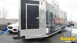2017 Concession Barbecue Food Trailer Bathroom Utah for Sale
