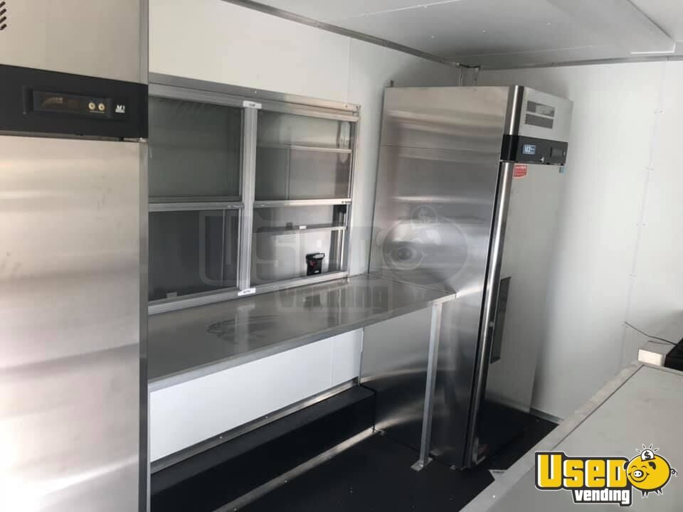 2017 Concession Trailer Upright Freezer Missouri for Sale - 5