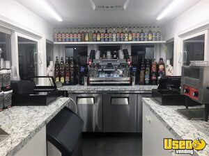2017 Custom Built By Classic Trolley Beverage - Coffee Trailer Cabinets Washington for Sale