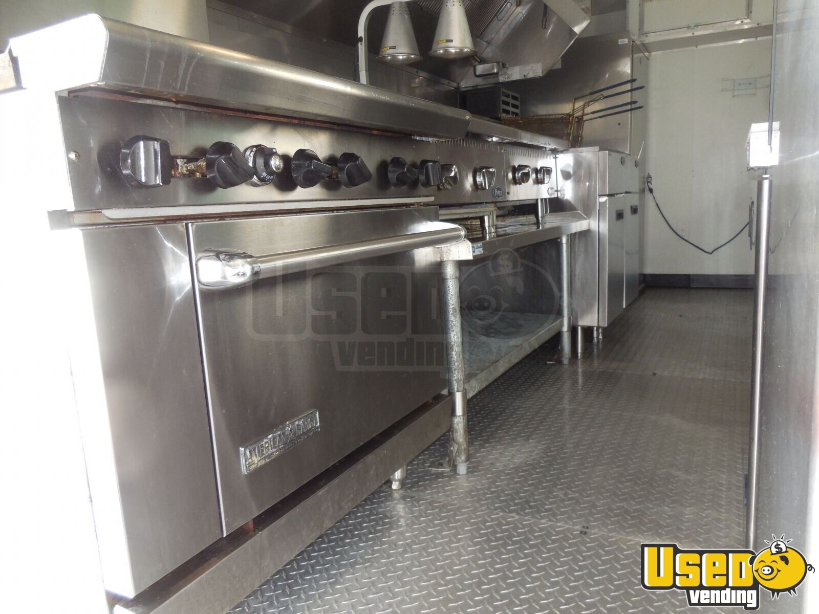 2017 Custome Kitchen Food Trailer Reach-in Upright Cooler Florida for Sale - 13