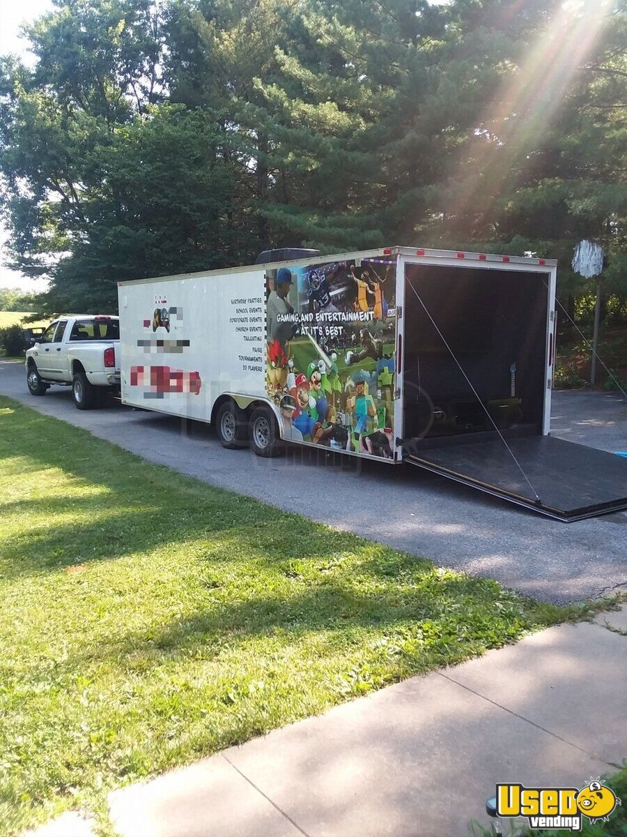 2017 Cynergy 24c Party / Gaming Trailer Generator Maryland for Sale - 5