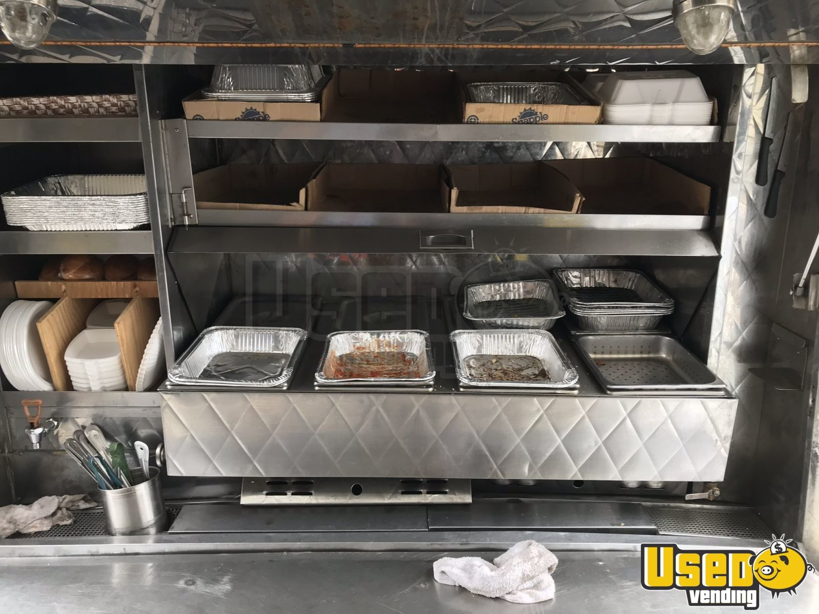 2017 Dodge Ram 3500 Dually Lunch Serving Food Truck Exterior Customer Counter New Jersey Gas Engine for Sale - 6