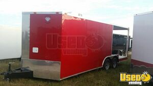 2017 Food Concession Trailer Concession Trailer Air Conditioning Texas for Sale