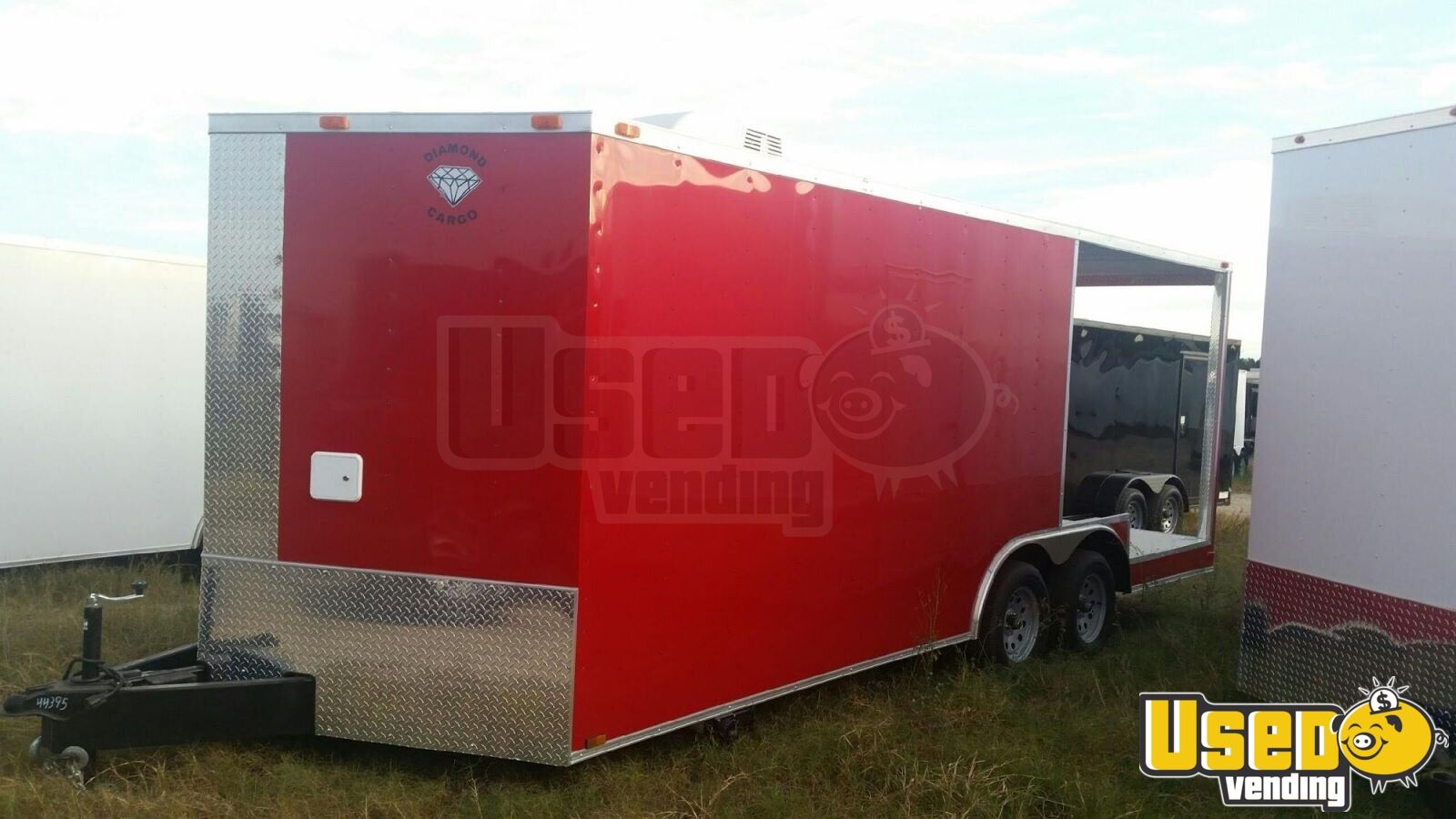 2017 Food Concession Trailer Concession Trailer Air Conditioning Texas for Sale - 2