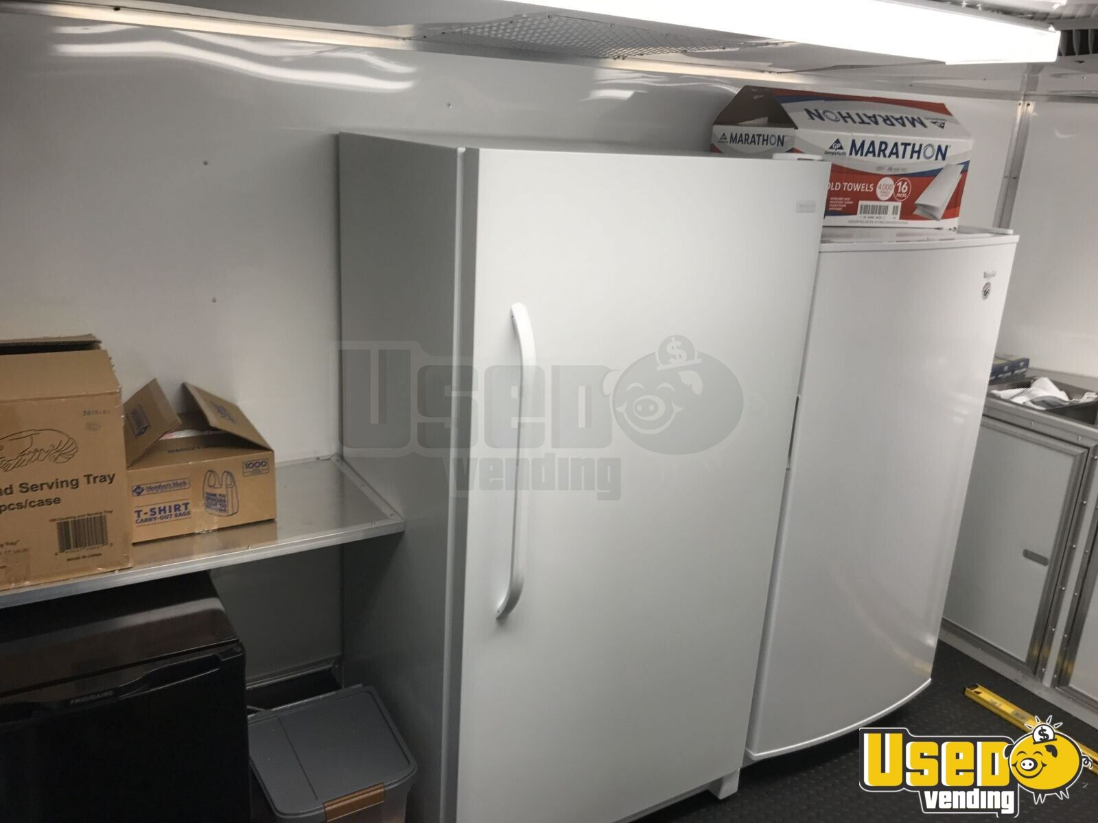 2017 Food Concession Trailer Concession Trailer Awning Texas for Sale - 6